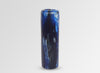 Medium Resin Organic Column Vase - Lapis Swirl