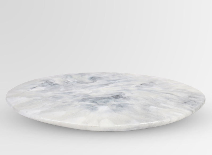 Resin Moon Cheese Platter - Abalone