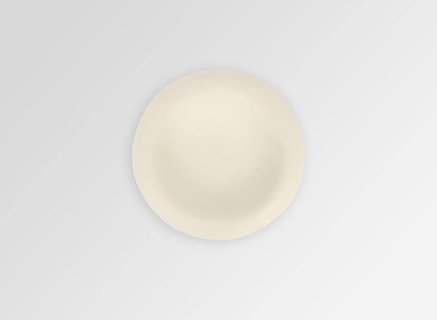 Small Resin Mother of Pearl Dish - Cream