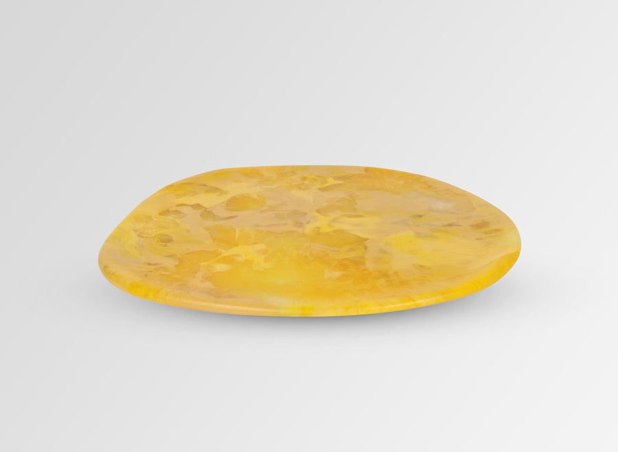 Resin Stone Platter - Honeycomb