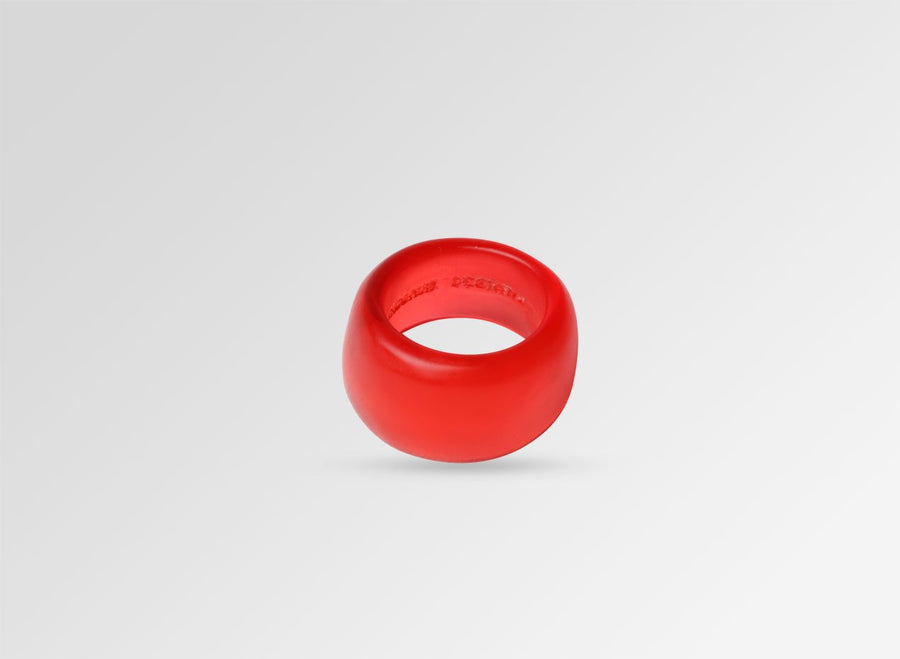 Resin Band Ring - Red