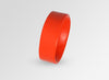 Large Resin Bones Bangle - Coral