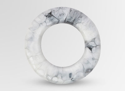 Resin Disc Bangle - Abalone