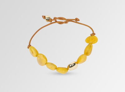 Long Mineral Bracelet - Honeycomb