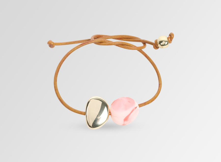 Small Mineral Bracelet - Pink Guava