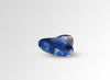 Resin Shield Ring - Lapis Swirl