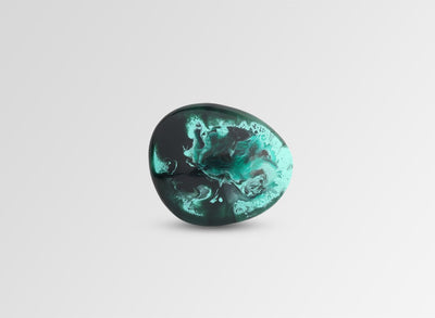 Stone Brooch - Forest