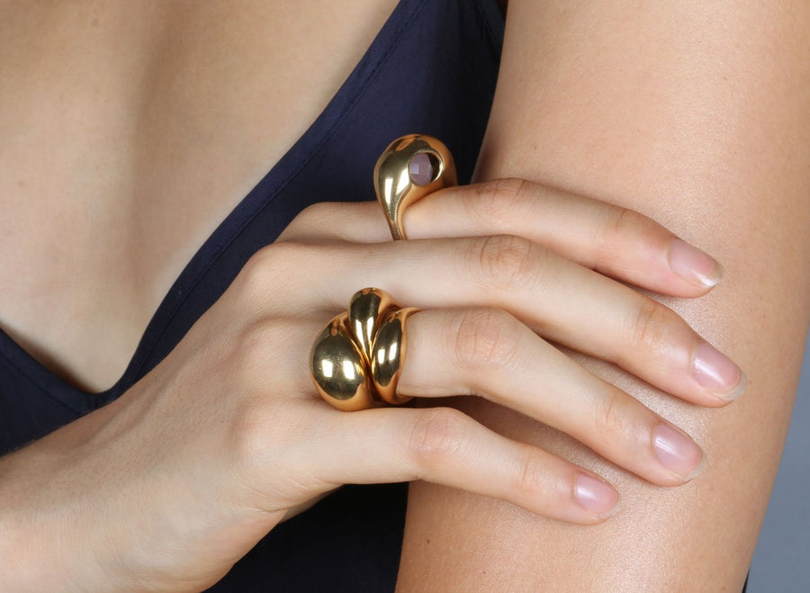 Louise Olsen Set 1 Ring - Gold
