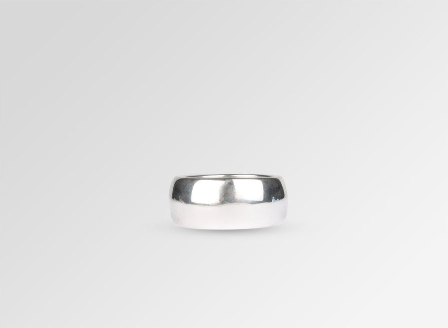 Wide Band Ring - Sterling Silver