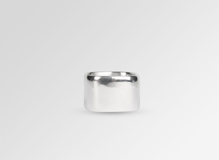 Cube Ring - Sterling Silver