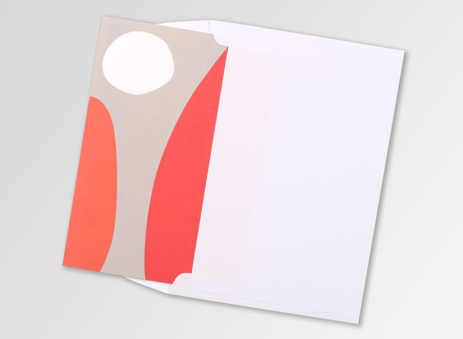 Greeting card - Rising Sun Coral
