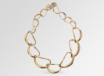 Louise Olsen Liquid Chain Choker - Gold