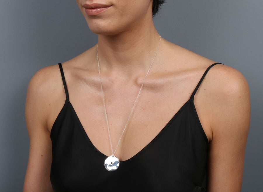 Louise Olsen I Ching Pendant - Silver