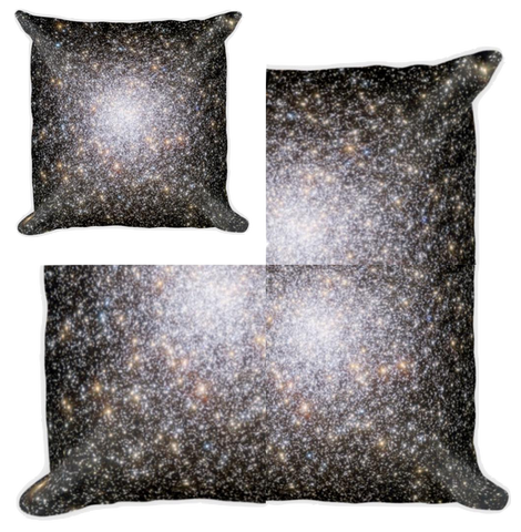 Star Cluster Pillow - Finnigan Note - 1