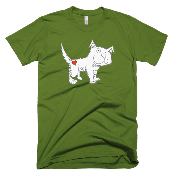 Trust Love Dog men's t-shirt - Finnigan Note - 3