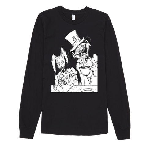 Tea Party Long Sleeve T-shirt (unisex) - Finnigan Note - 1