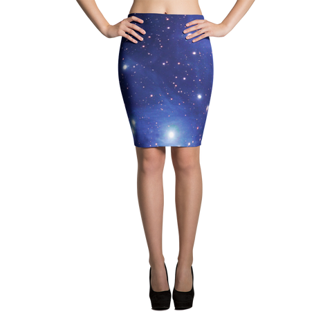Pleiadian Star Child Pencil Skirt - Finnigan Note - 1