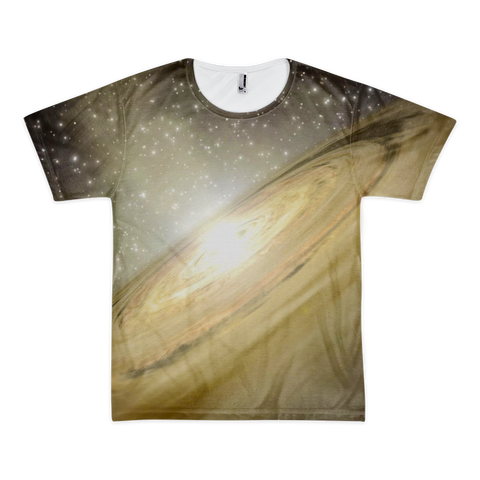 Golden Galaxy Short sleeve t-shirt (unisex) - Finnigan Note - 1