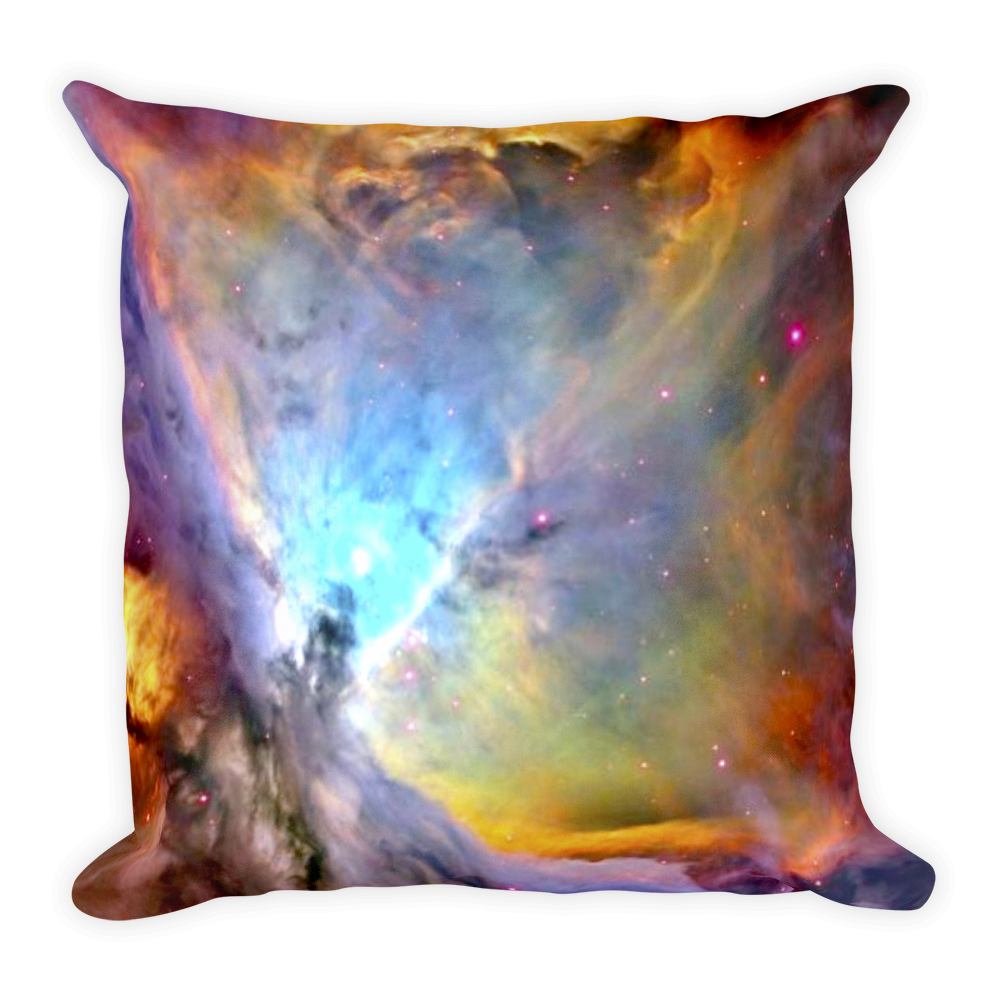 Orion Nebula Pillow - Finnigan Note - 1