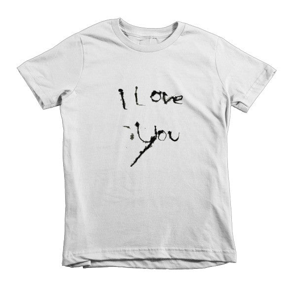 I Love You kids t-shirt - Finnigan Note - 1