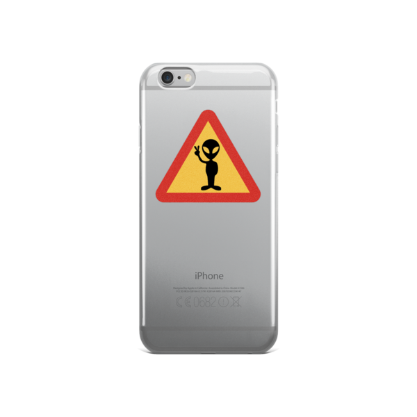 Alien iPhone Case - Finnigan Note - 2