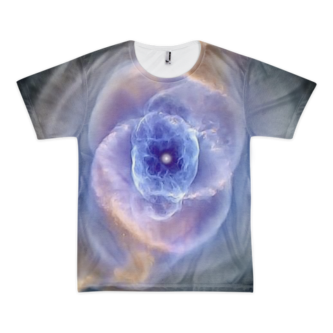 Cat's Eye Nebula Short sleeve t-shirt (unisex) - Finnigan Note - 1