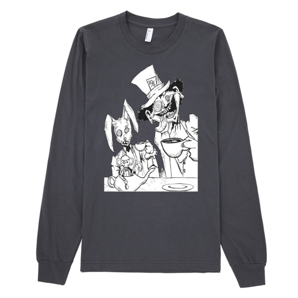 Tea Party Long Sleeve T-shirt (unisex) - Finnigan Note - 3