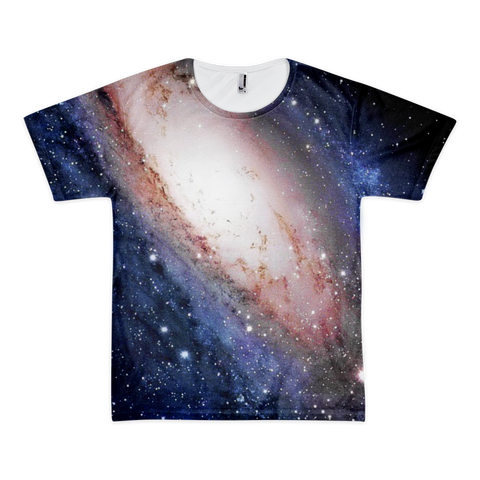 Love Galaxy short sleevet-shirt (unisex) - Finnigan Note - 1