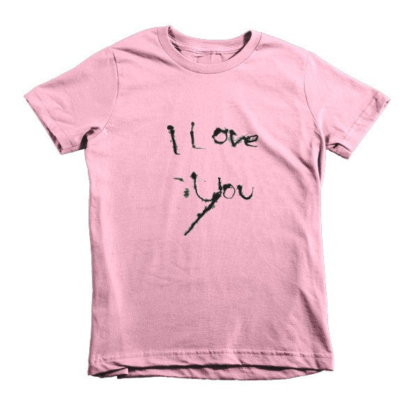 I Love You kids t-shirt - Finnigan Note - 5