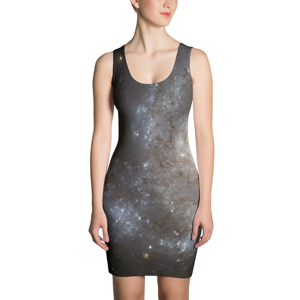 Spiral Galaxy Dress - Finnigan Note - 1