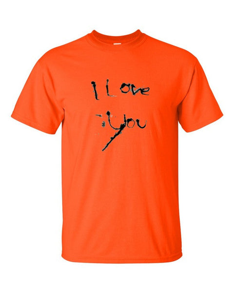 I Love You Cotton Short sleeve t-shirt - Finnigan Note - 4