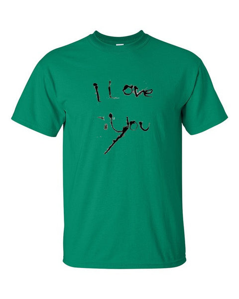 I Love You Cotton Short sleeve t-shirt - Finnigan Note - 1