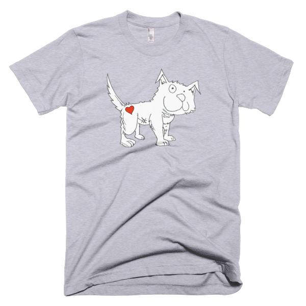 Trust Love Dog men's t-shirt - Finnigan Note - 6