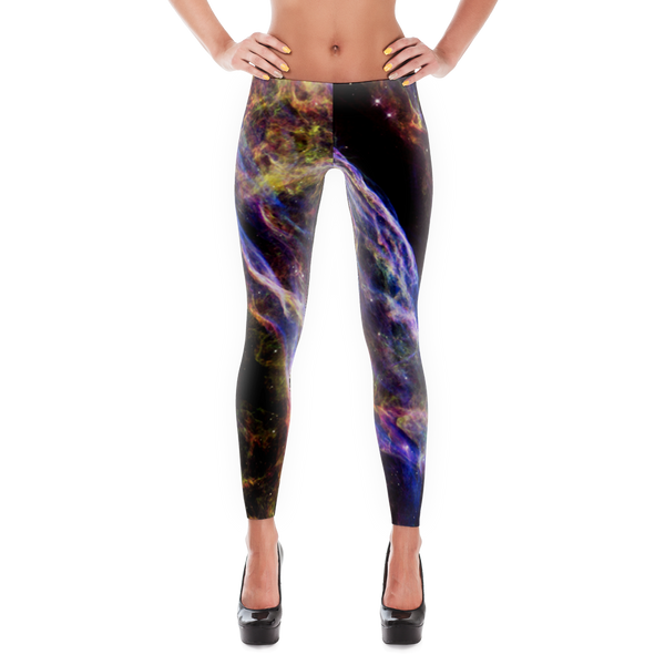 Veil Supernova Remnant Leggings - Finnigan Note - 1
