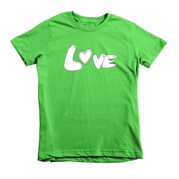 Trust LOVE Short sleeve kids t-shirt - Finnigan Note - 4