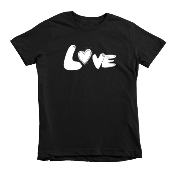 Trust LOVE Short sleeve kids t-shirt - Finnigan Note - 3