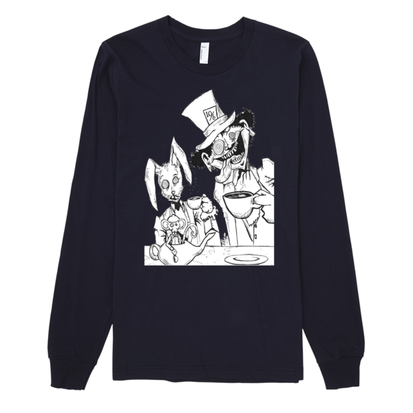 Tea Party Long Sleeve T-shirt (unisex) - Finnigan Note - 4