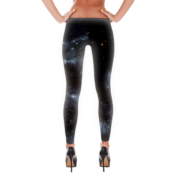 Spiral Galaxy Leggings - Finnigan Note - 2