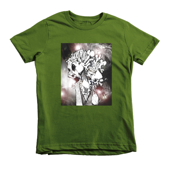 February by Roger Plymale kids t-shirt - Finnigan Note - 1