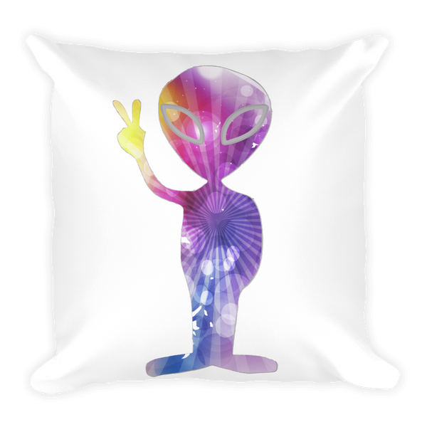 Specail Cosmic Alien Double Sided Pillow - Finnigan Note - 2