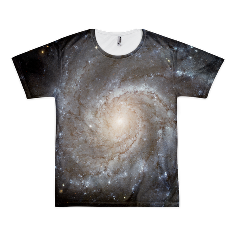 Spiral Galaxy Short sleeve t-shirt (unisex) - Finnigan Note - 1