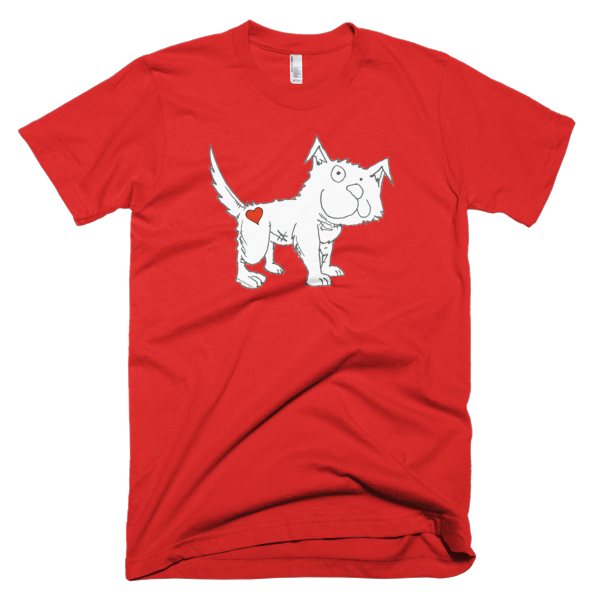 Trust Love Dog men's t-shirt - Finnigan Note - 8