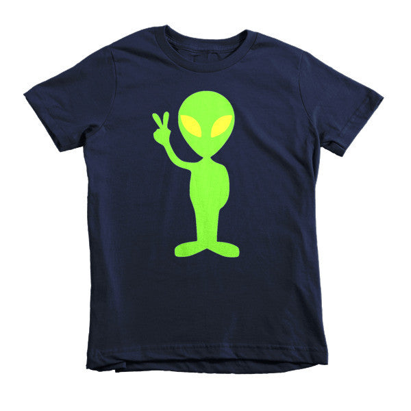 Peace Out Alien kids t-shirt - Finnigan Note - 3