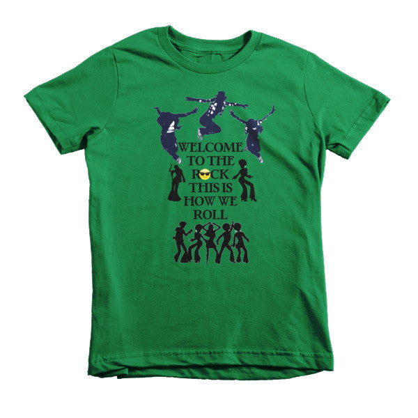 Welcome to the Rock Kids T-shirt - Finnigan Note - 3