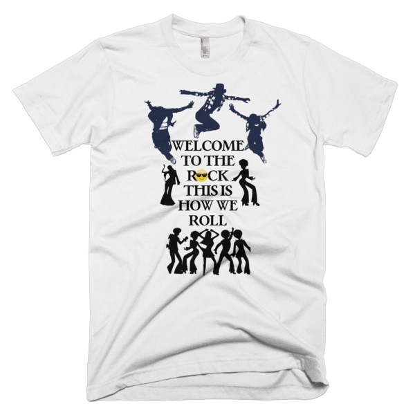 Welcome To The Rock Men's T-shirt - Finnigan Note - 1