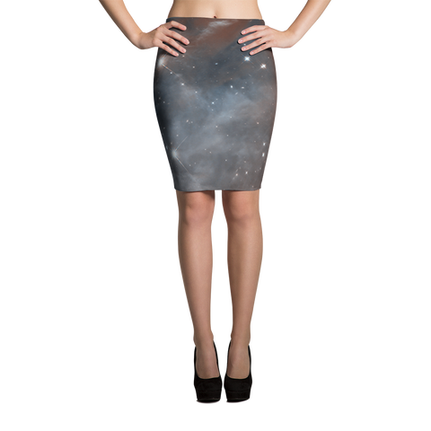 Horsehead Nebula Pencil Skirt - Finnigan Note - 1