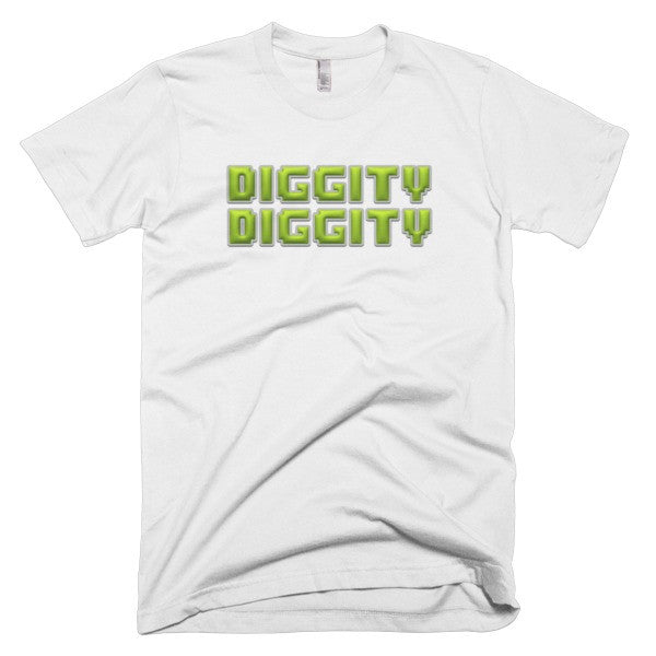 Diggity Diggity men's t-shirt - Finnigan Note