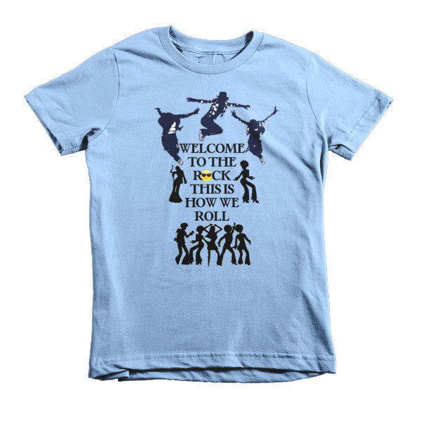 Welcome to the Rock Kids T-shirt - Finnigan Note - 5