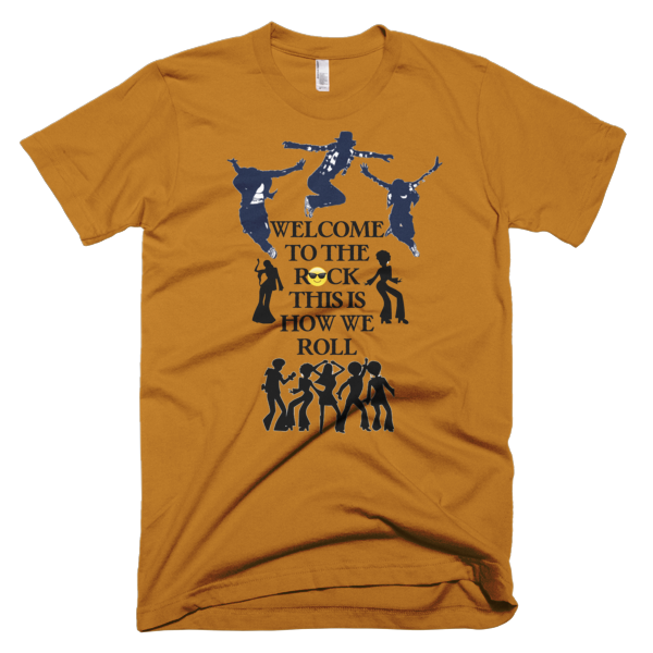 Welcome To The Rock Men's T-shirt - Finnigan Note - 5
