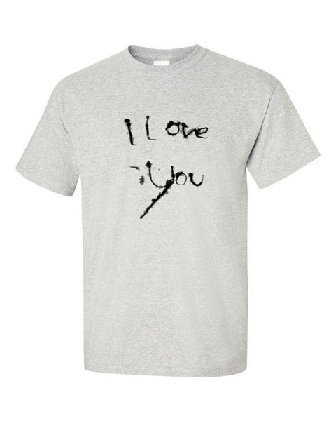 I Love You Cotton Short sleeve t-shirt - Finnigan Note - 3